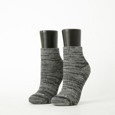 Footer除臭襪-混色潮流氣墊襪-六雙入(亮紅*2+暗紅*2+灰黑*2)