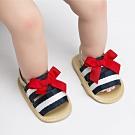 Baby童衣 寶寶夏季海軍風學步鞋 蝴蝶結公主鞋 88306