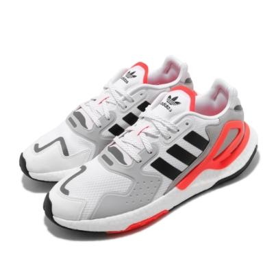 adidas 休閒鞋 Day Jogger 運動 男鞋 愛迪達 三葉草 緩震 Boost 穿搭 白 橘 FY0237