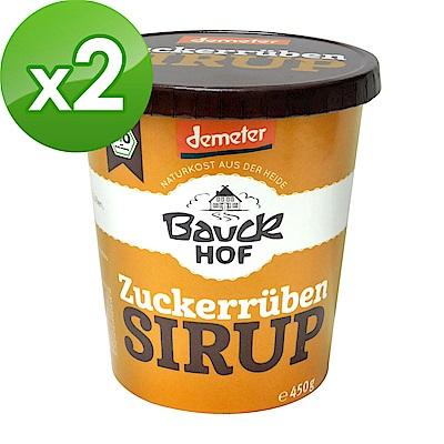 BuDer 標達 德國原裝進口甜菜根糖蜜(450g/罐)*2件組-德國DEMETER認證
