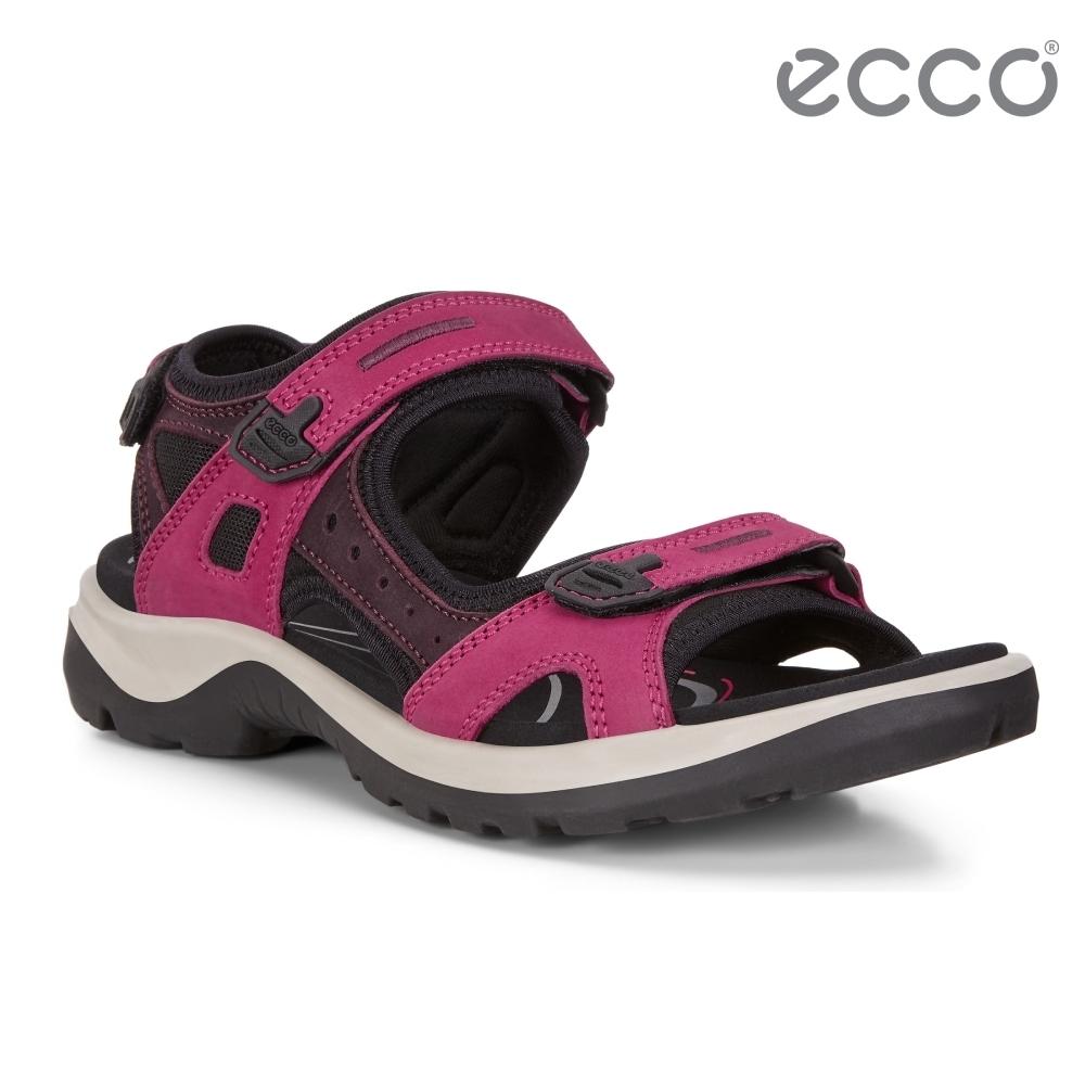 ECCO OFFROAD 越野亮彩戶外運動涼鞋  女鞋-紫紅色