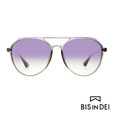BIS IN DEI 雙槓飛行框太陽眼鏡-灰