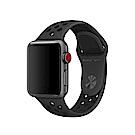 【APPLE原廠公司貨】Anthracite配黑色Nike運動型錶帶