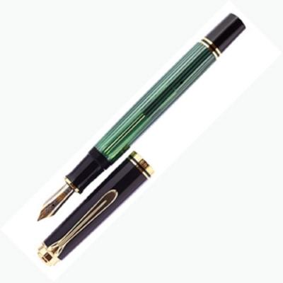 德國PELIKAN百利金 綠桿金夾14k鋼筆*M600