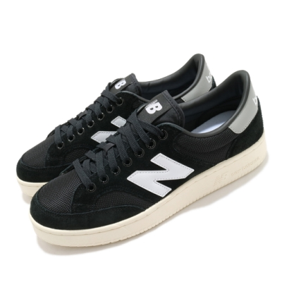 New Balance 休閒鞋 Pro Court Cup 運動 男女鞋 紐巴倫 經典款 簡約 麂皮 情侶穿搭 黑 白 PROCTCDCD