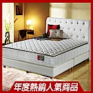 MG珍寶-正三線-乳膠抗菌-蜂巢獨立筒床墊-雙人5尺