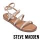 STEVE MADDEN-TRANSPORT-R-夏日時尚款 二字細帶銀鑽繞踝涼拖鞋-銀色 product thumbnail 1