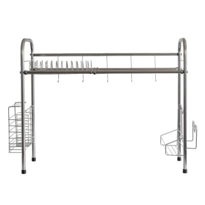 泰家 70CM不鏽鋼廚房多功能流理台瀝水收納架 置物架 廚房架
