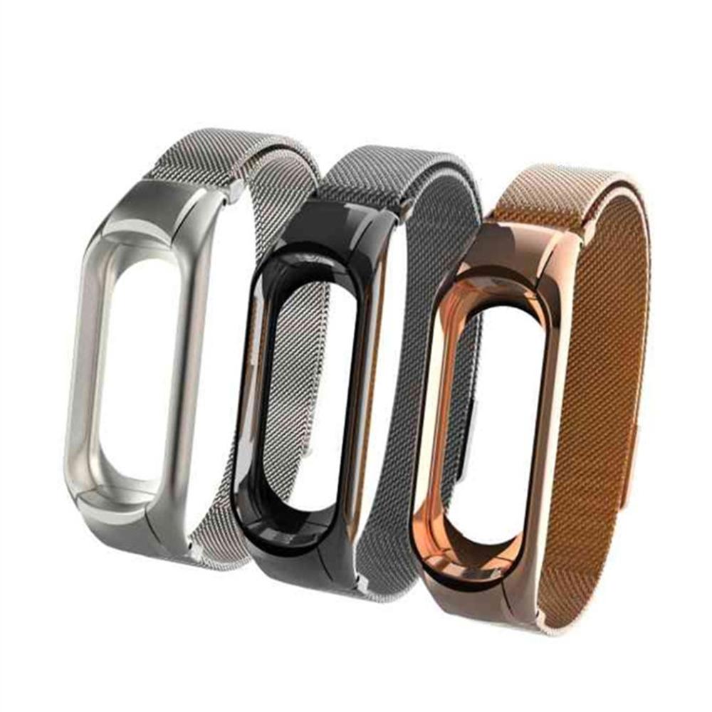 ANTIAN 小米手環3 米蘭尼斯款替換手錶錶帶 磁吸版 @ Y!購物