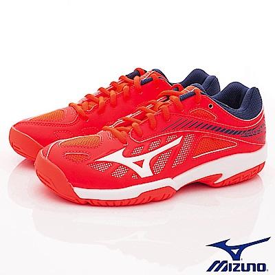 MIZUNO童鞋 避震緩衝排球鞋款 ON80301紅(中大童段)