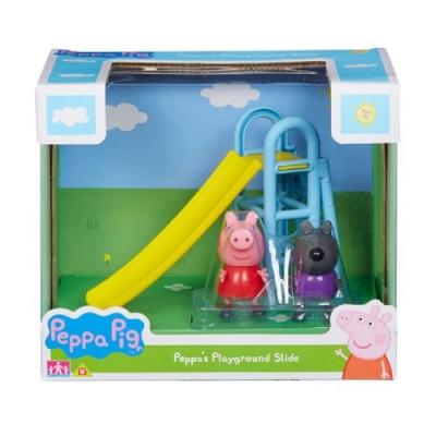 粉紅豬小妹- 雙人偶戶外組 - 溜滑梯  PEPPA PIG