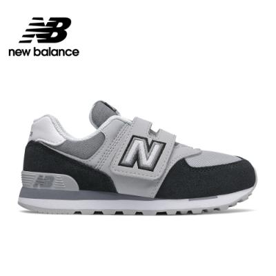 【New Balance】童鞋_中性_黑色_YV574NLC-W楦