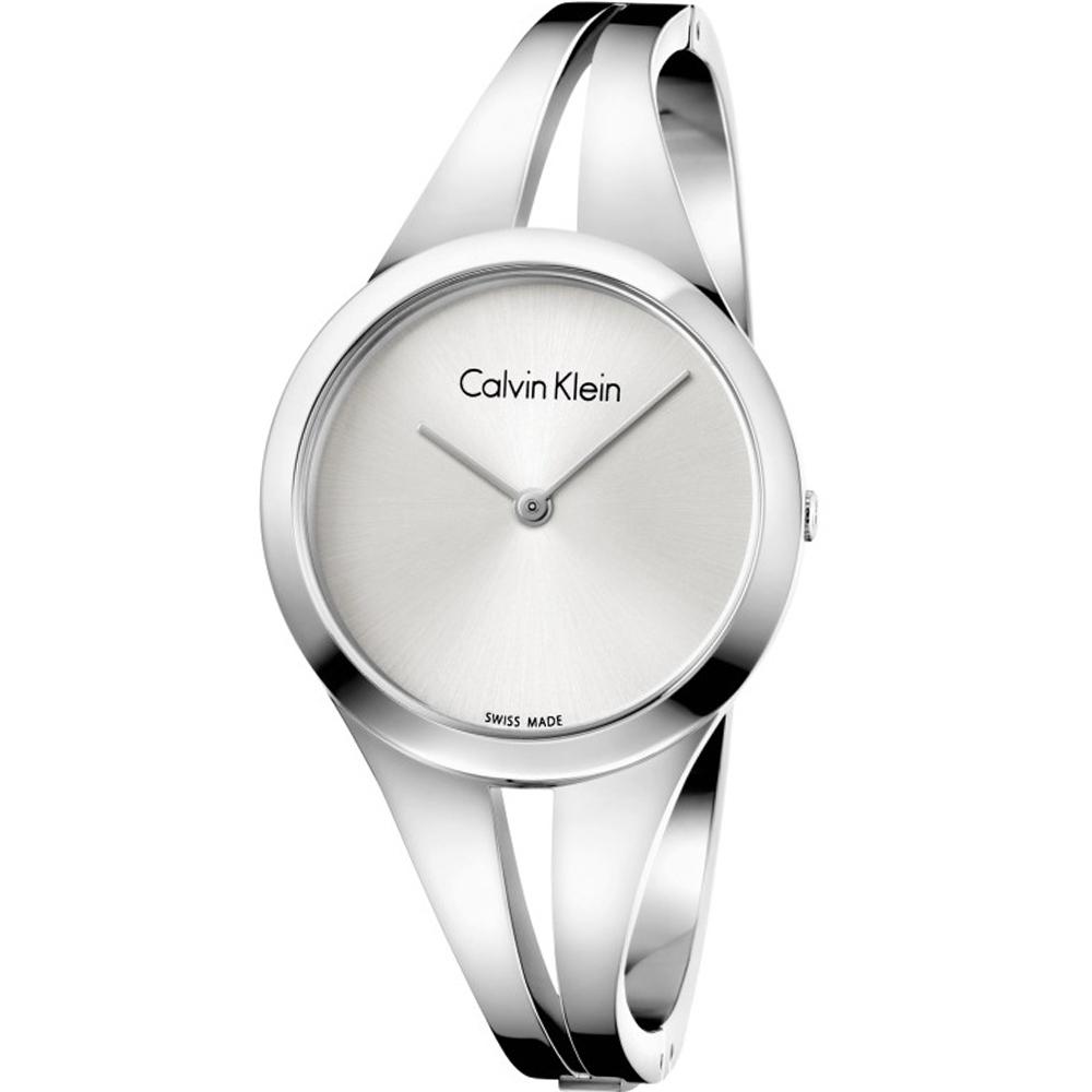 Calvin Klein Ladies Addict 迷戀經典手環錶(K7W2S116)