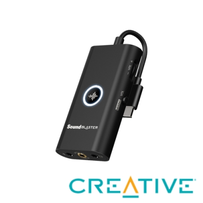 Creative Sound Blaster G3 USB外接式音效卡
