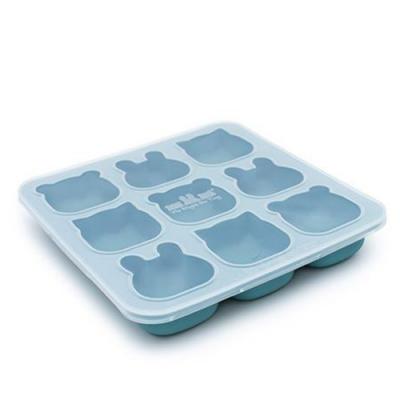 澳洲We Might Be Tiny 動物矽膠製冰烘焙模具-孔雀藍