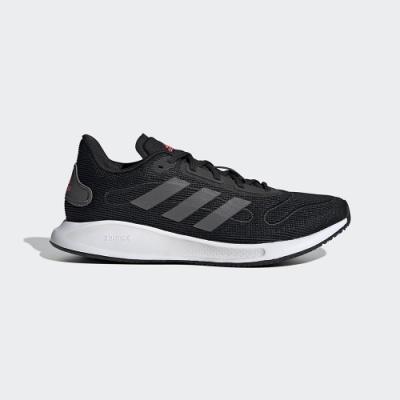 adidas 慢跑 訓練 緩震 運動鞋 女鞋 黑 FV4733 GALAXAR Run W