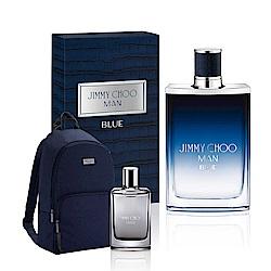 JIMMY CHOO 酷藍男性淡香水100ml(贈酷藍後背包+隨機小香乙瓶)