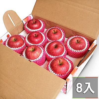 【鮮果日誌】日本空運青森蜜蘋果 (8入禮盒裝)