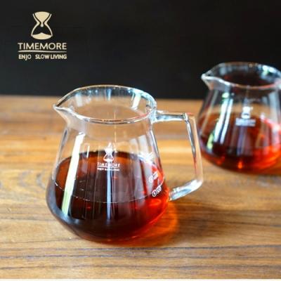 TIMEMORE泰摩 咖啡玻璃分享壺-360ml  手沖咖啡 分享壺 咖啡壺 咖啡濾壺 冰瞳濾杯