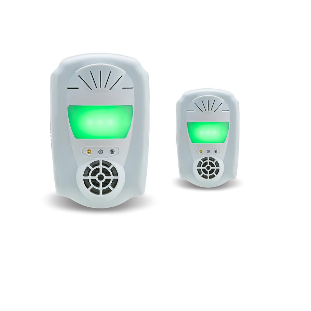 DigiMax 風光雙效型超音波驅鼠器-2入組 UP-11S