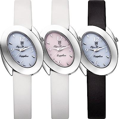 Olym Pianus 奧柏表 芳心之眼時尚石英腕錶