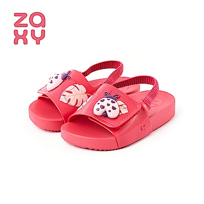 ZAXY GARDEN瓢蟲造型涼鞋(寶寶款)-桃紅