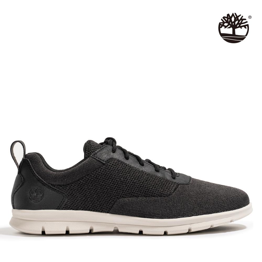 Timberland 男款黑色Graydon網布休閒鞋 A2QXW