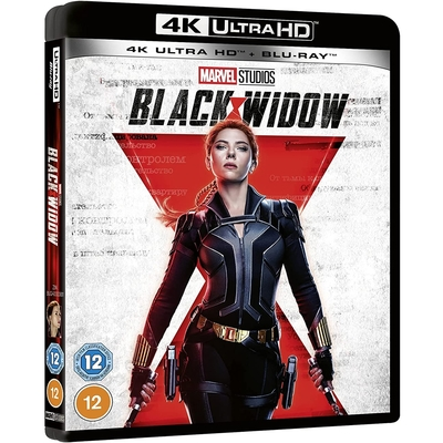 黑寡婦 Black Widow  4K UHD + BD 雙碟版