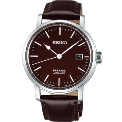 SEIKO精工Presage琺瑯工藝機械錶(6R35-00F0B SPB115J1)
