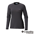 Columbia 哥倫比亞 女款- Omni HEAT 3D 鋁點保暖上衣-黑色