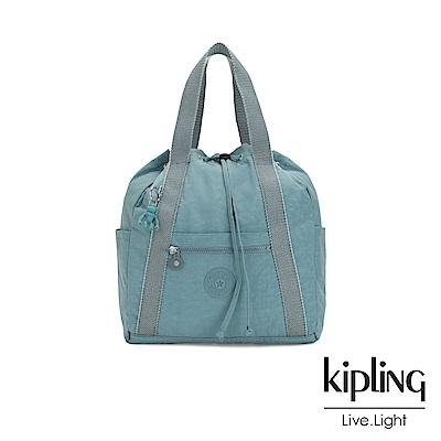 Kipling 冰霜綠兩用側背後背包-小-ART BACKPACK S