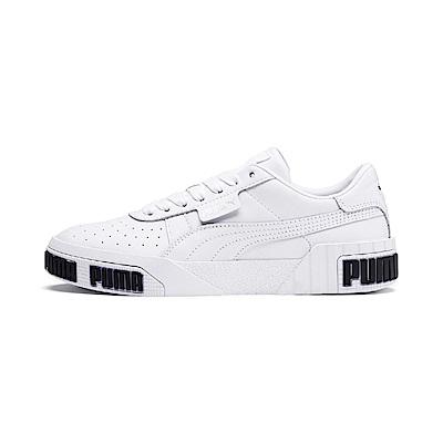 PUMA-Cali Bold Wn s 女性復古休閒鞋-白色