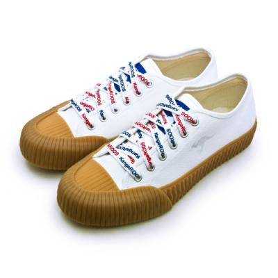 KangaROOS 帆布厚底餅乾鞋 CRUST 藍標袋鼠鞋系列 米棕 91279