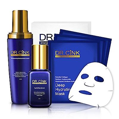 DR.CINK達特聖克 夏日肌膚持續補水特惠組