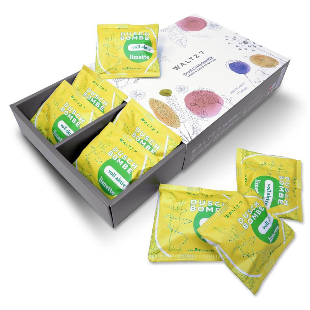 華爾滋7號淋浴SPA香氛錠-冰萃萊姆(12入禮盒禮袋組)COACH