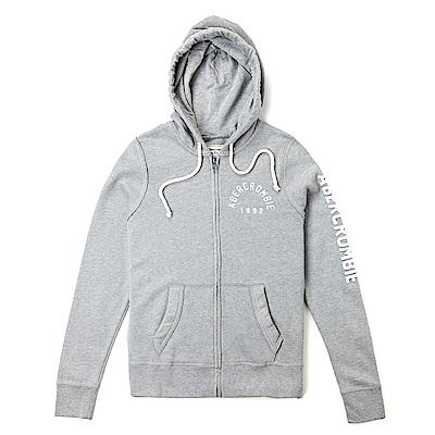 麋鹿 AF 限定款經典刺繡標誌連帽外套(女)-灰色