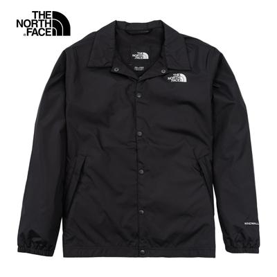 The North Face TNF COACH JACKET 男女 風衣外套 黑-NF0A4U8WJK3