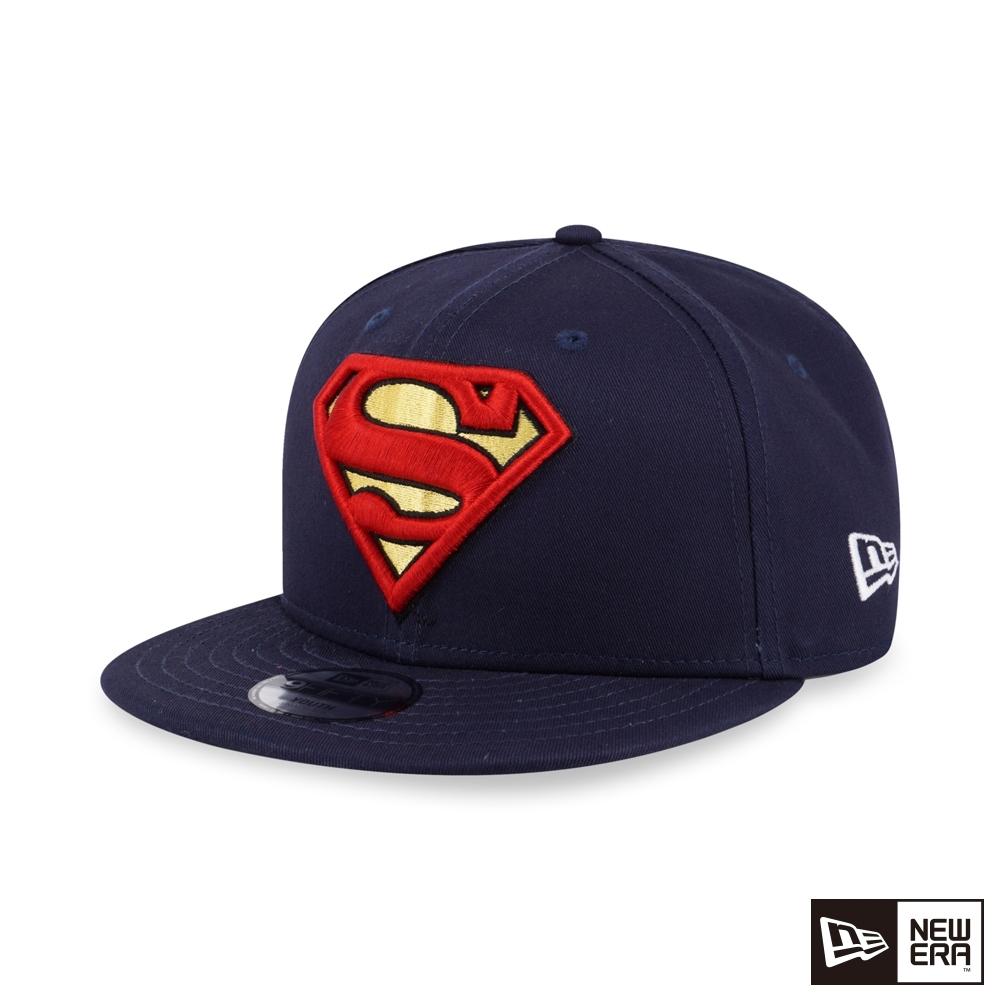 NEW ERA 9FIFTY 童950 SUPER HERO 超人 海軍藍 棒球帽