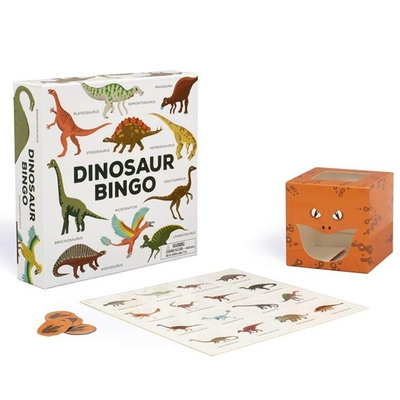 Dinosaur Bingo:An Easy-To-Play Game For Children And Families 恐龍賓果配對遊戲盒