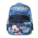 DF 童趣館 - 正版迪士尼米老鼠多口袋反光條後背包-共3款