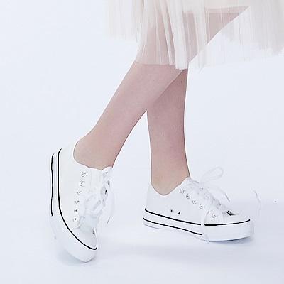 百搭素面帆布鞋 共二色 TATA