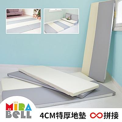 【韓國MIRABELL】 兒童4cm厚拼接地墊 ( 軟墊/遊戲墊/爬行墊/床邊墊)