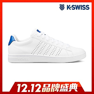 K-Swiss Court Casper休閒運動鞋-男-白/藍