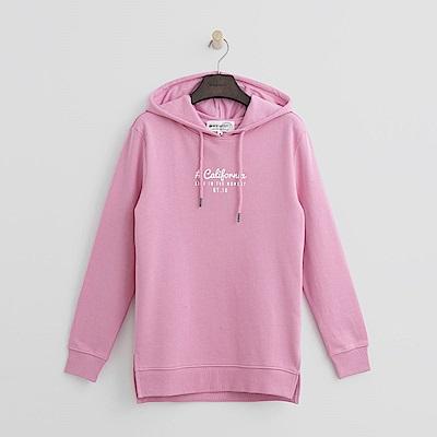 Hang Ten - 女裝 - 加州美式風格帽T-粉紅色