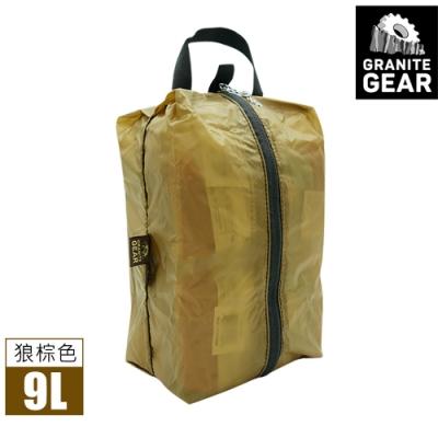 Granite Gear 18303 Air ZippSack 拉鍊式立體收納袋 (9L) / 狼棕色