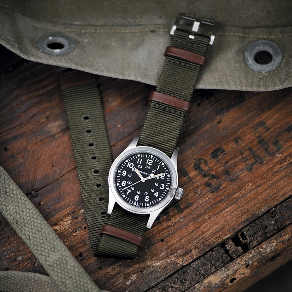 Hamilton 漢米爾頓 KHAKI FIELD 80小時動力卡其野戰軍風機械錶