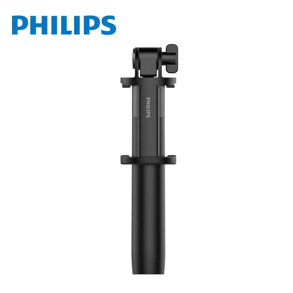 【Philips 飛利浦】輕盈鋁合金藍牙自拍棒 DLK36001
