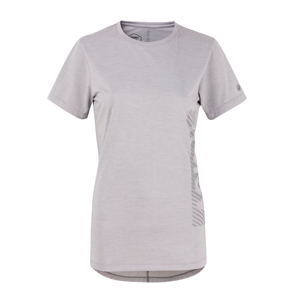 ASICS 女短袖上衣 2032A474-021 @ Y!購物