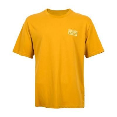 CONVERSE SHORT SLEEVE TEE 男 短袖上衣 黃色 10021134-A04