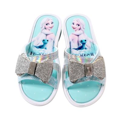 女童台灣製冰雪奇緣授權正版涼拖鞋 sa04736 魔法Baby